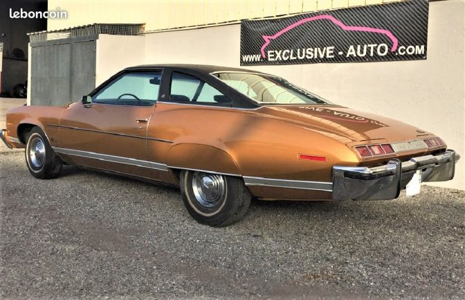 arrière pontiac lemans 1973